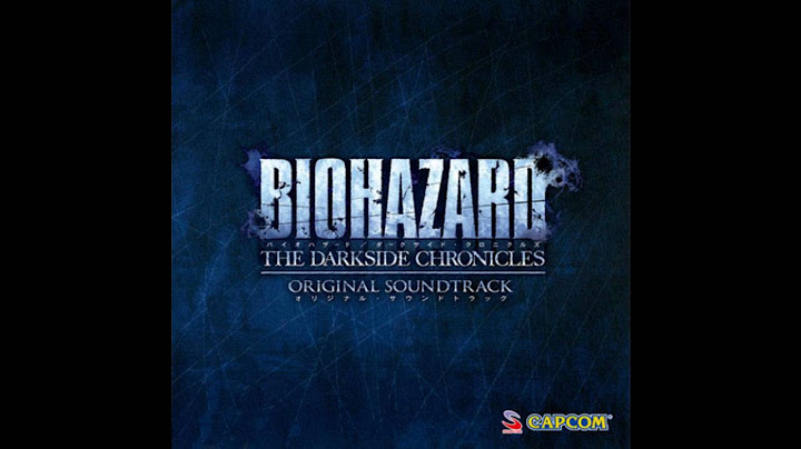resident evil darkside chronicles soundtrack disk 2 track 10 metamorphosis