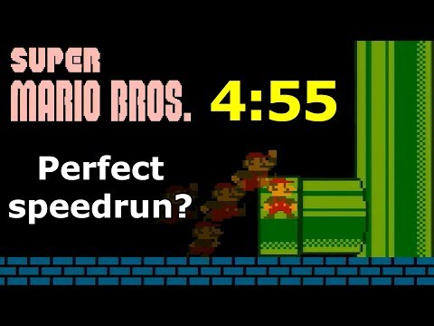 Is 4:55 the perfect speedrun? Super Mario Bros. World Record Explained