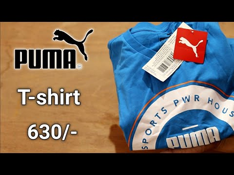 puma-blue-t-shirt-unboxing-ajio-¦-puma-t-shirt-review-¦-puma-t-shirt-ptice-¦-puma-t-shirt-under-500