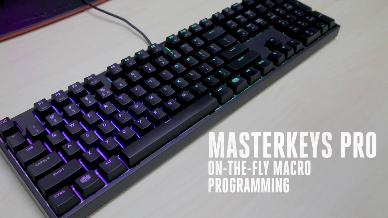 MasterKeys Pro - On the fly Macro