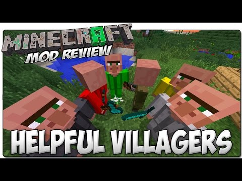 helpful villagers mod wiki
