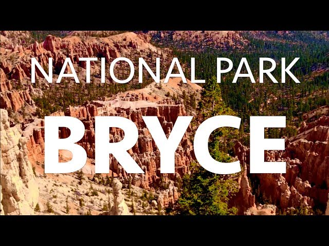 BRYCE CANYON National Park 4K    UTAH USA