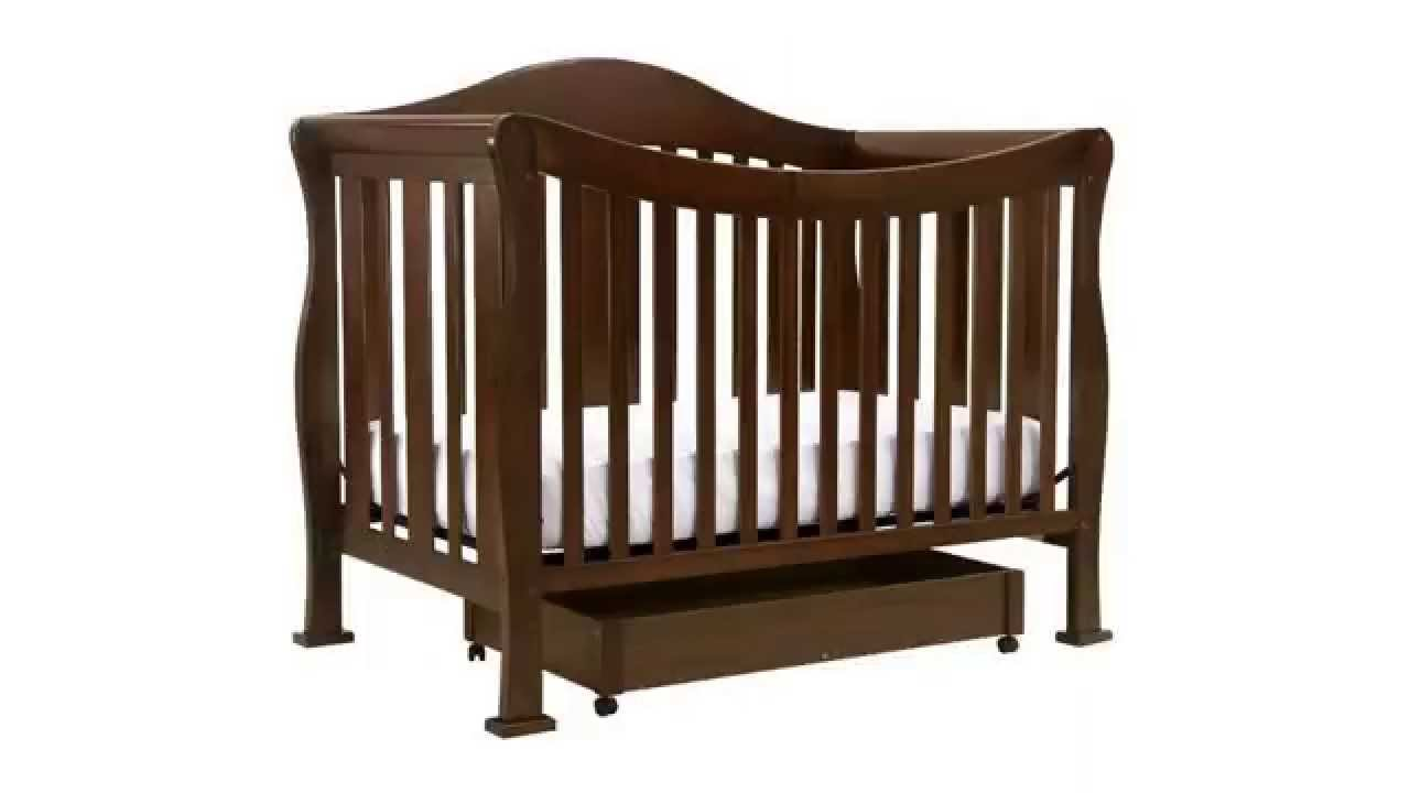 convertible crib with toddler bed conversion kit davinci parker 4 rh youtube com Parker Coffee DaVinci DaVinci Parker Crib Espresso