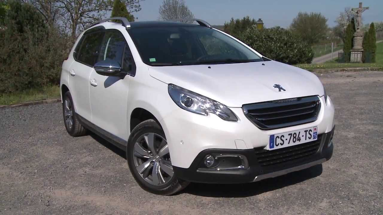 Essai Peugeot 2008 1 6 E Hdi 115ch Allure Youtube