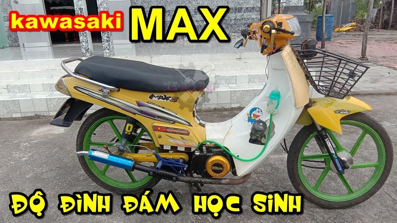 Nhức đầu với Kawasaki Max độ chất chơi của học sinh – Xe độ đẹp