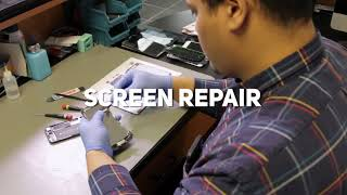 Customizable Cell Phone Repair Marketing Video iPhone Android Battery Replacement Screen Repair