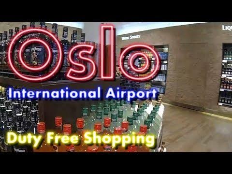 GoPro | Oslo International Airport | Duty Free Shopping | Flight SK1467