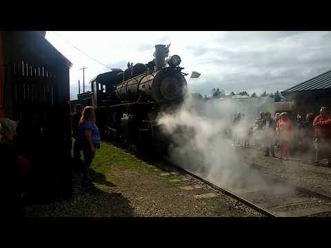 Arcade &Attica Railroad Steam Train