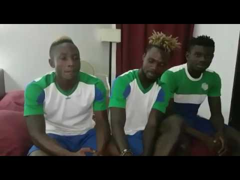 Watch the true story about the SierraLeone football team scandal. It's a first hand story from thems