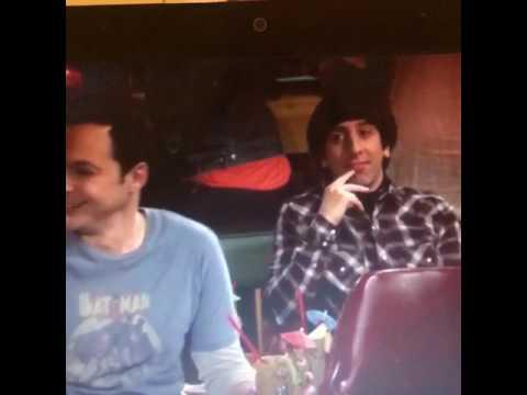 The Big Bang Theory Raj and Leonard Karaoke