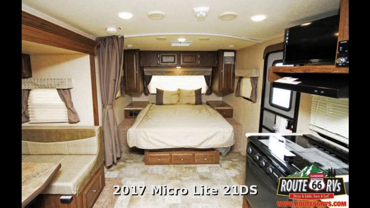 2017 Forest River Flagstaff Micro Lite 21ds Travel
