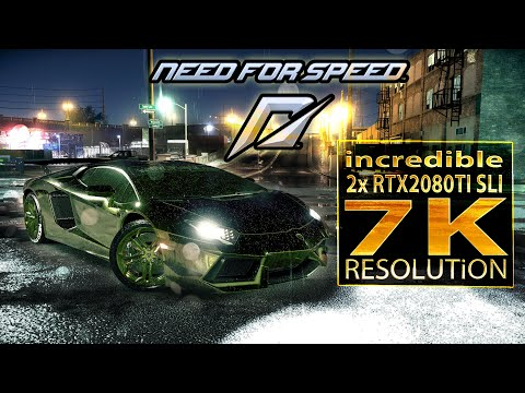 Need for Speed | RTX 2080 Ti SLI | core i9 9900K 5 3 GHz (7K resolution)