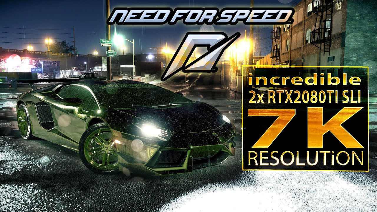 Need for Speed   RTX 2080 Ti SLI   core i9 9900K 5 3 GHz (7K resolution)