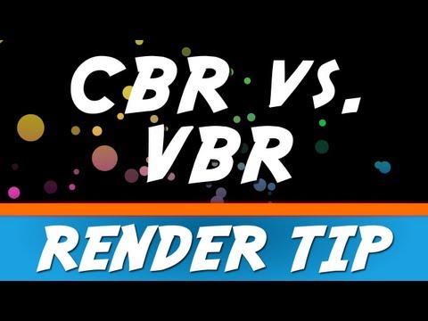 Sony Vegas Pro 12: CBR vs. VBR Render Tip #1