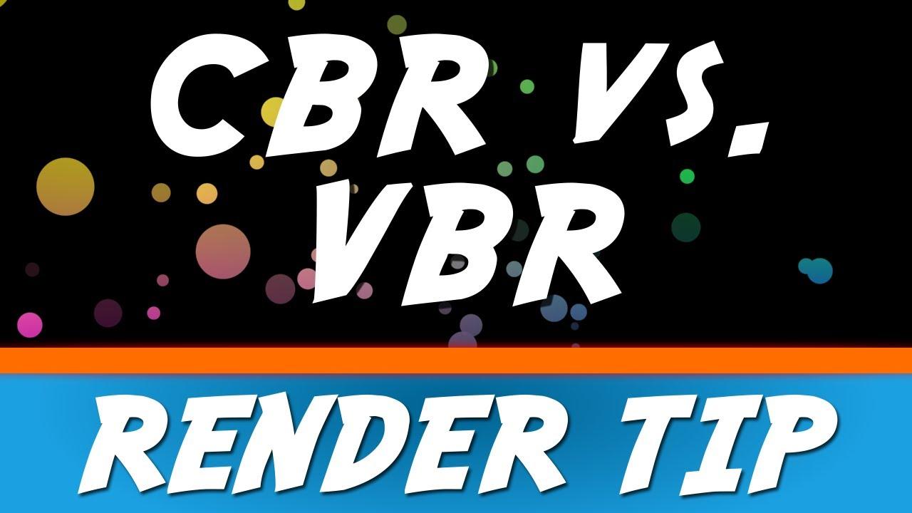 Sony Vegas Pro 12: CBR vs  VBR Render Tip #1