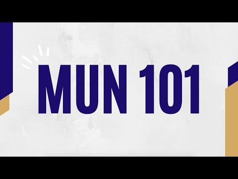 MUN 101 - By The NTUMUN Academics Team
