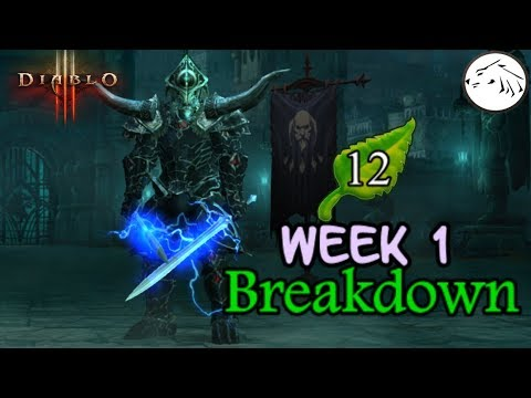 Download Youtube: Diablo 3 Season 12 Week 1 Recap patch 2.6.1