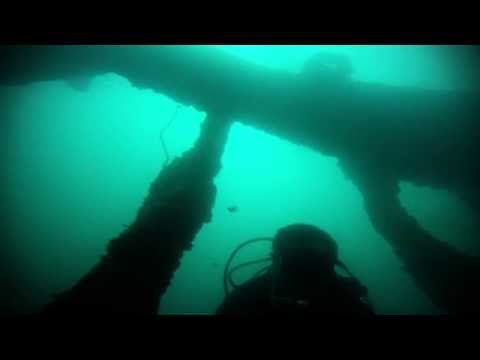 USS New York (ACR-2) wreck dive in Subic Bay