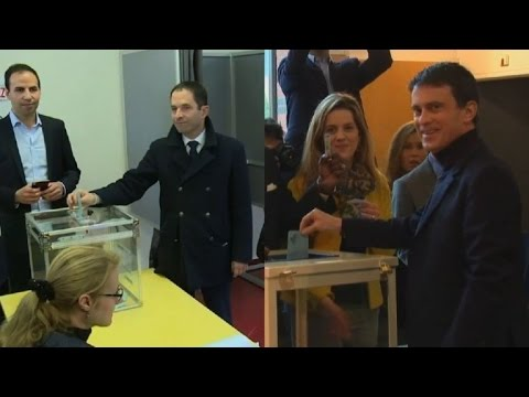 France:final 2 Socialist Party candidates vote in primary runoff