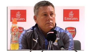 Arsenal 4-3 Leicester - Craig Shakespeare Full Post Match Press Conference - Premier League