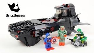 Lego Super Heroes 76048 Iron Skull Sub Attack - Lego Speed Build