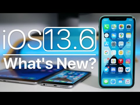 iOS 13.6 is Out! - What's New?