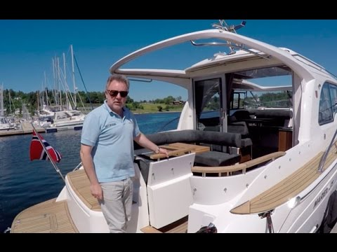 Marex 375 from Motor Boat & Yachting