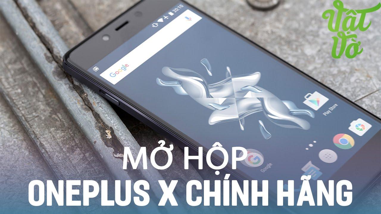 Vật Vờ| Mở hộp OnePlus X chính hãng: 4.990.000đ: 3GB RAM, Snapdragon 801