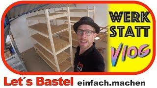 Holzregale selber bauen - billig und schnell -   ||   WSV 27