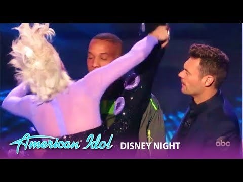 Dimitrius Graham: Katy Perry GRABS Him After He Spills His HEART On Stage | American Idol 2019