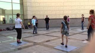 Мастер-класс по чечетке у Краеведческого музея 25.07.2015. (2)