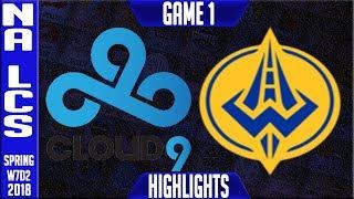 Video C9 vs GGS Highlights | NA LCS Week 7 Spring 2018 W7D2 | Cloud 9 vs Golden Guardians Highlights download MP3, 3GP, MP4, WEBM, AVI, FLV Juni 2018