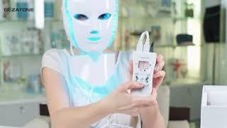 LED маска М1090 для лица и шеи от Gezatone