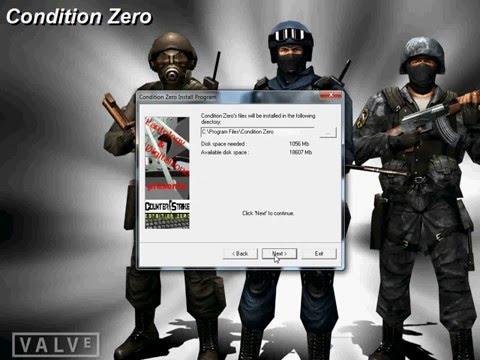 counter strike 1.6 + condition zero + half life - full