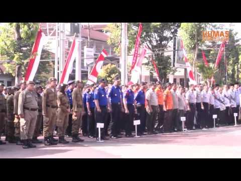 Wakil Wali Kota Batu Pimpin Upacara Hari OTODA Ke 21 Tahun 2017