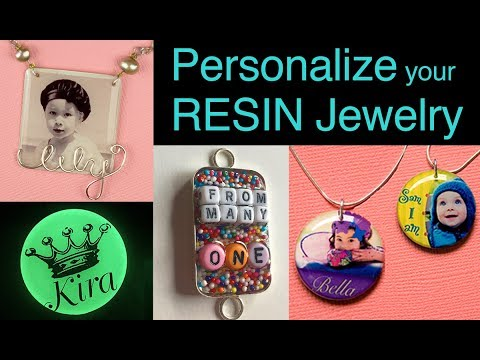 How to Personalize Resin Projects - by little-windows.com