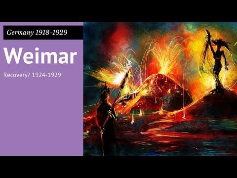 GCSE Germany 7: Weimar Germany 1924 -29
