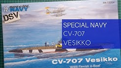 Special NAVY 1/72 CV-707 Vesikko (SN72004) Review