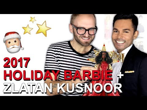 Doll Chat - 2017 Holiday Barbie Doll + Zlatan Kusnoor (Barbie Art Director)