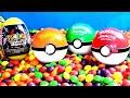 Pokemon Surprise Egg pokemon go ball DIPPIN DOTS Kinder Surprise Pokeball PIKACHU