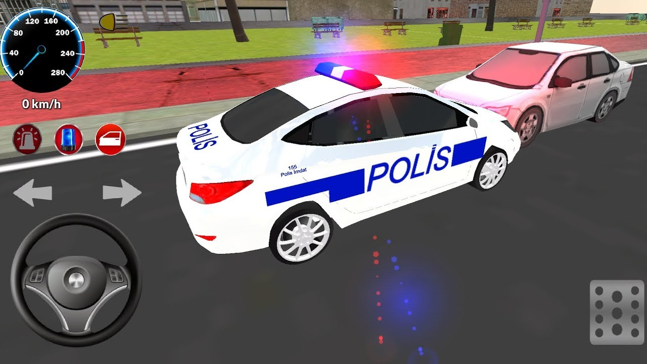 Turk Polis Ve Araba Oyunu 6 Cocuklar Icin Polis Arabasi Oyunu