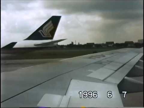 THE SIGHT & THE SOUND 11/12 : Thai Airways A300-622R documentary from Bangkok to Hongkong Kai Tak