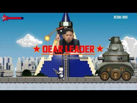 """Dear Leader"" - The North Korean Parody Video Game - Launch Trailer."