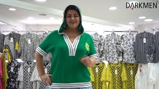 Лучший оптовый магазин женской одежды больших размеров DARKWIN от DARKMEN Турция Стамбул Лалели