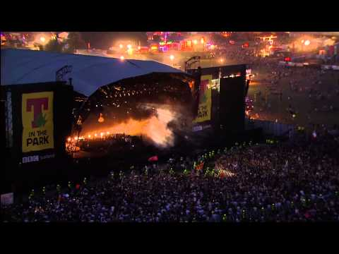 Mumford & Sons - Little Lion Man - T in the Park 2013 [1080i]