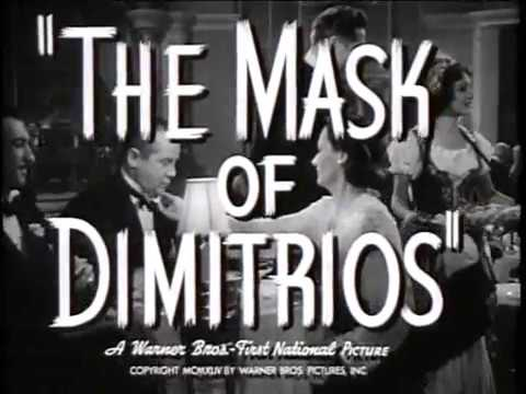 The Mask of Dimitrios  1944 Peter Lorre Sydney Greenstreet
