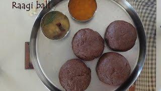 Ragi mudde recipe   How to make soft raagi mudde