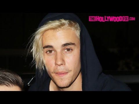 Justin Bieber Is Drunk Leaving The Nice Guy With A New Girlfriend & Argues With Paparazzi 2.8.16