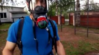 Обзор Дыхательного аппарата для Пожарных и Спасателей / Как пожарные дышат в дыму