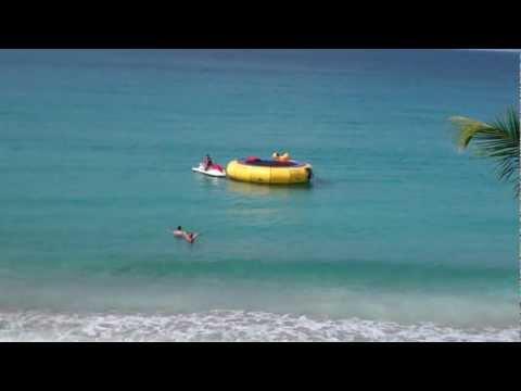 Water Trampoline in St. Martin
